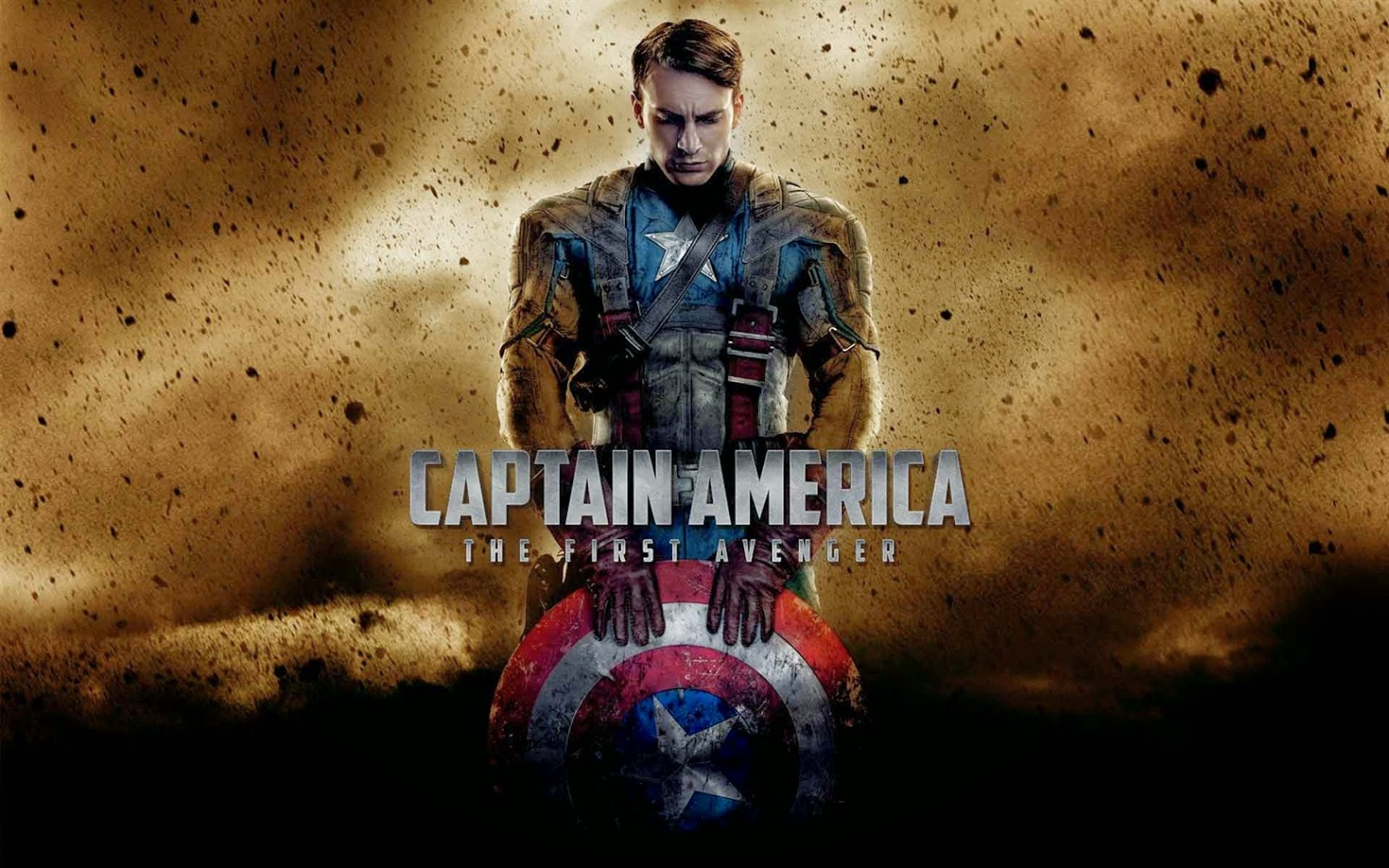 Wallpapers Captain America The first avenger HD   Fondos 1600x1000