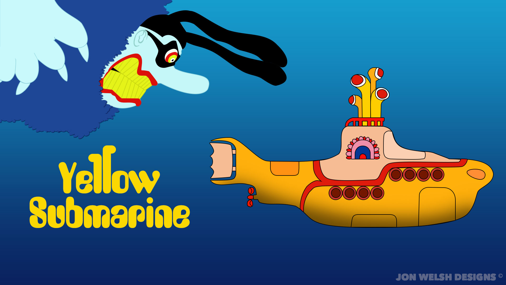 Yellow Submarine Wallpaper