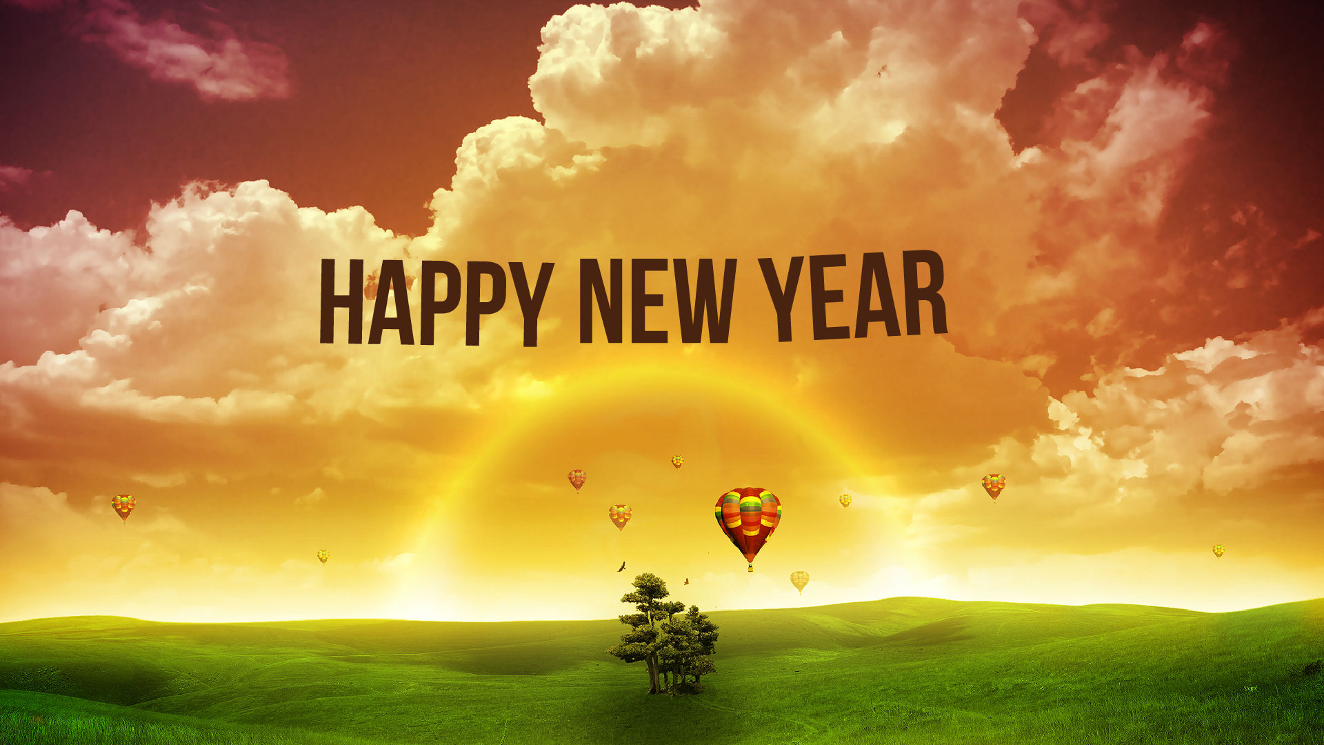 happy new year wallpaper with quotes 1920x1080