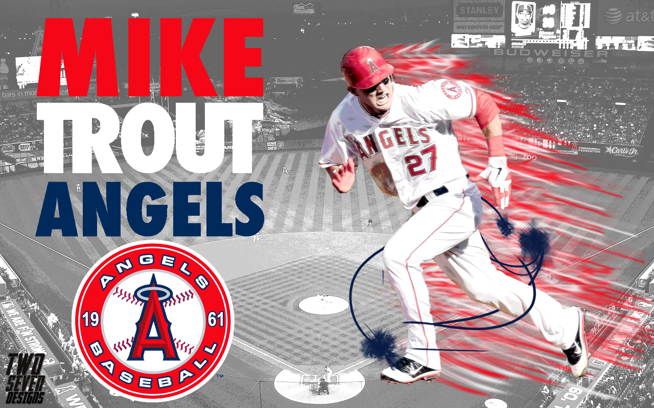 Mike Trout Wallpaper Hd Wallpapersafari