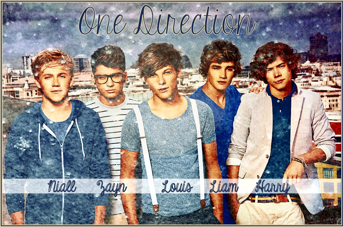 One Direction Wallpaper 2 by iluvlouis 1098x727