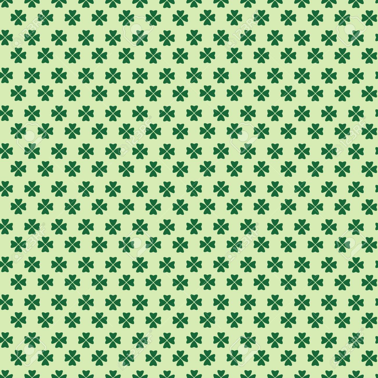 Free Download Cute Background For St Patricks Day Seamless Pattern