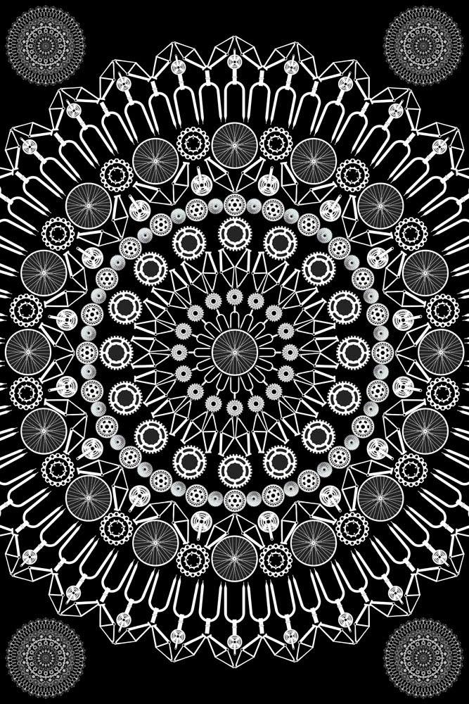 Mandala Black And White Love This is the same mandala 667x1000