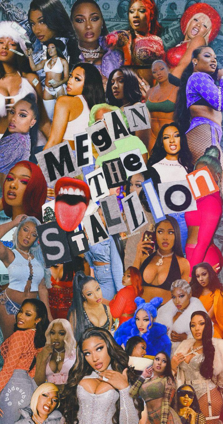 Megan Thee Stallion Wallpaper   Wallpaper Sun 715x1359