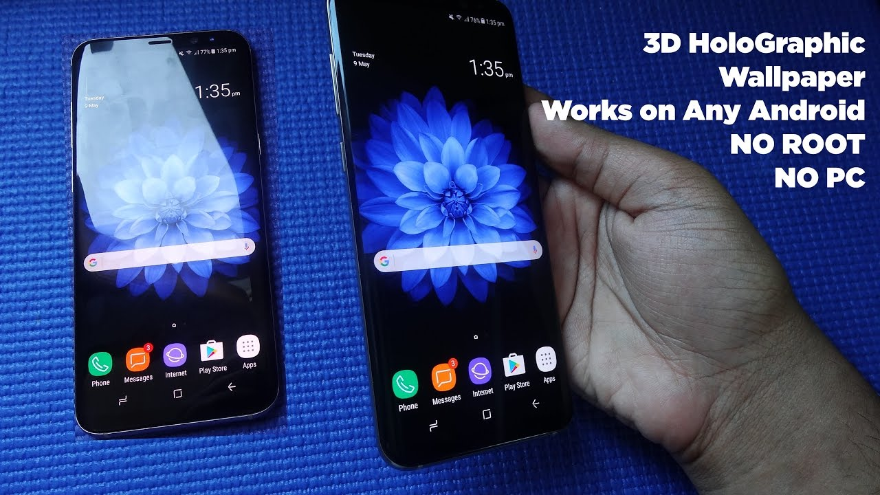 Download 3D Holographic Wallpapers For Samsung Galaxy S8 and S8 1280x720