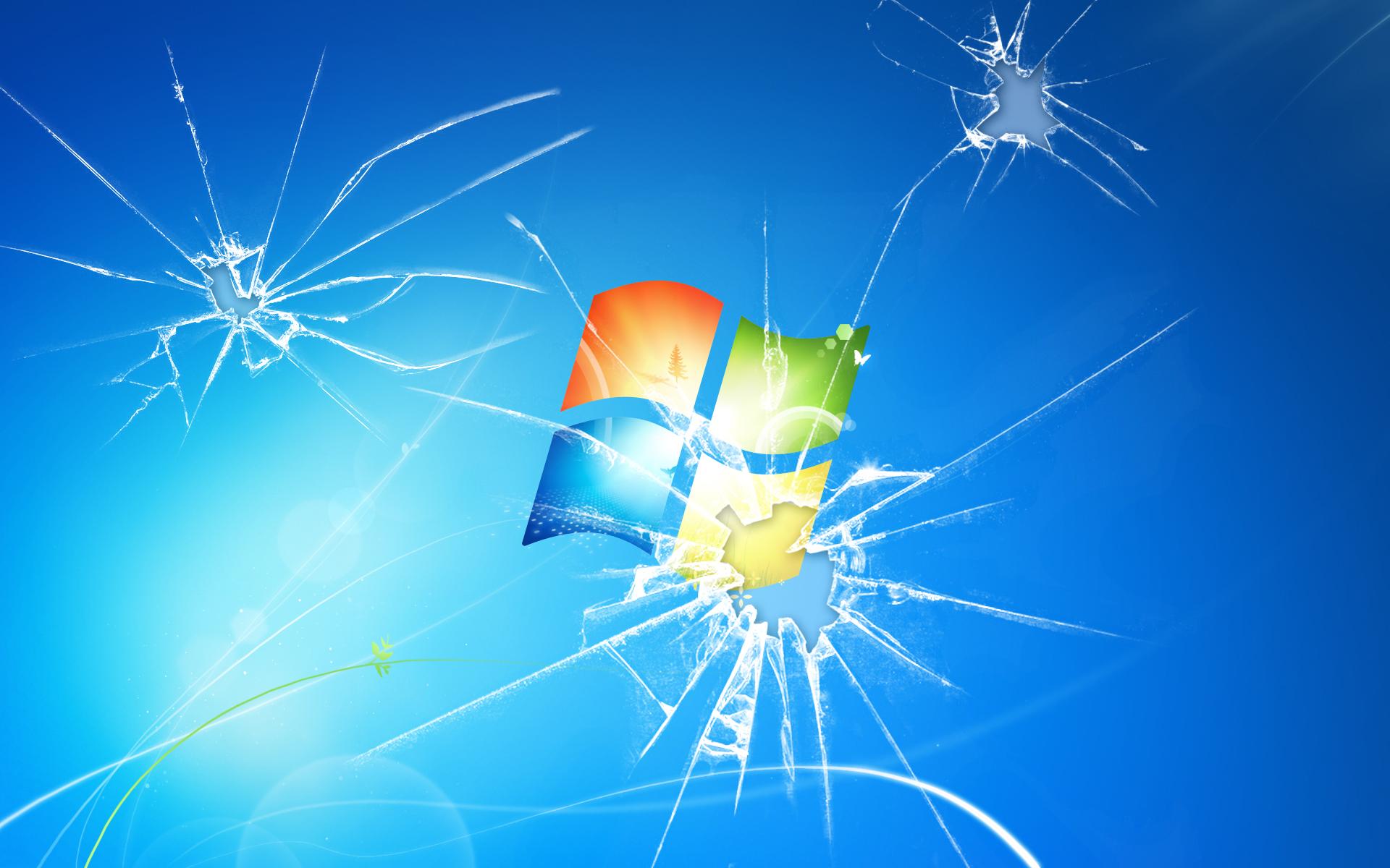 Broken Screen Wallpaper 1920x1200 Broken Screen Microsoft Windows 1920x1200