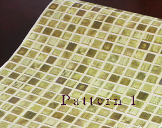 to Removable Mosaic tiles pattern self adhesive vinyl Wallpaper 560x444
