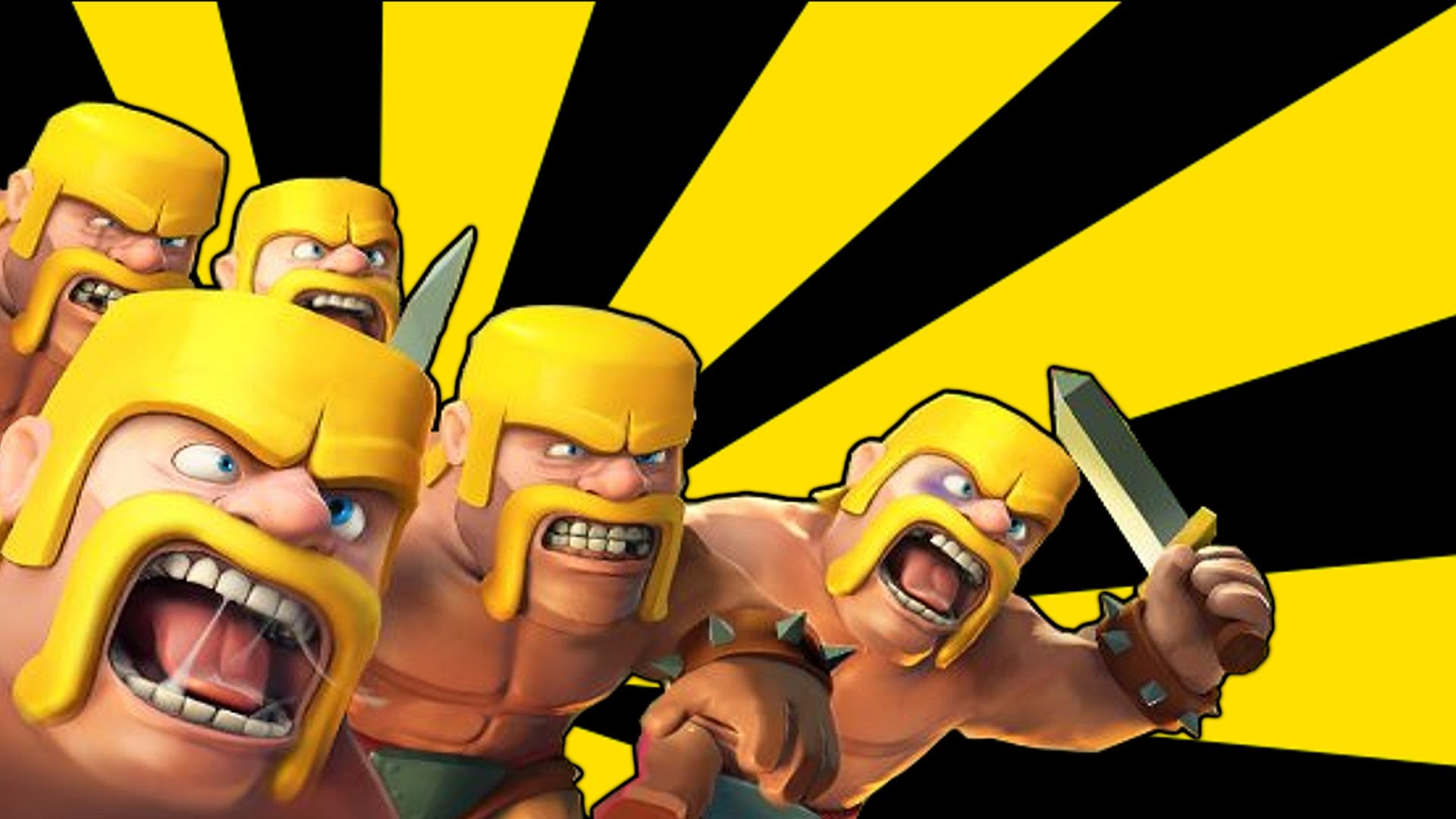 Clash of clans   BaRBariAN Troop tips and tricks Gameplay 1920x1080