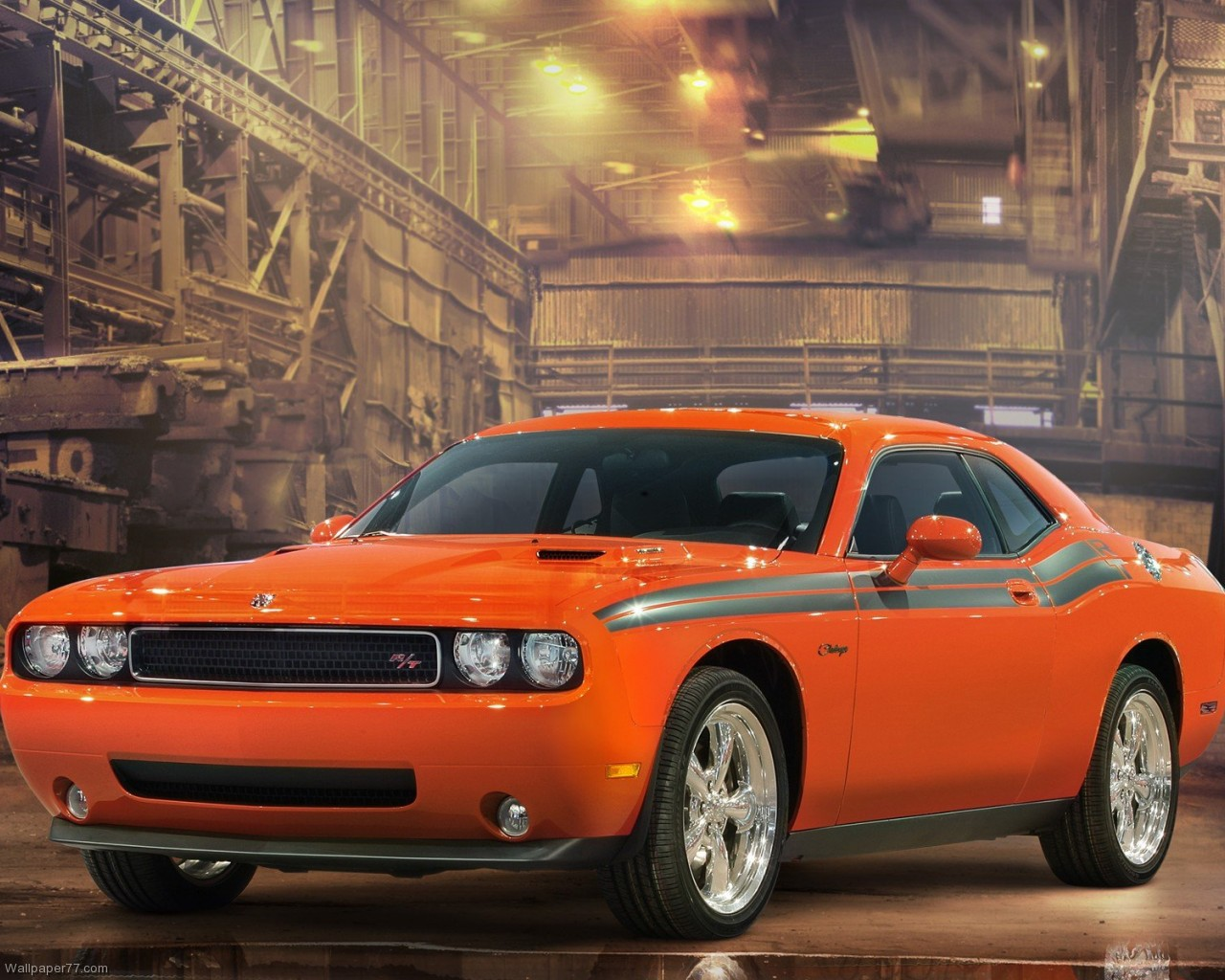 Dodge Challenger RT Classic Factory car wallpapers dodge wallpapers 1280x1024