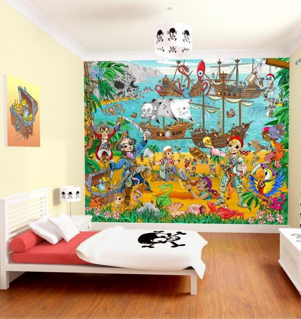 Decorating Ideas Picture Awesome Child Room Wallpapers Designs 600x635