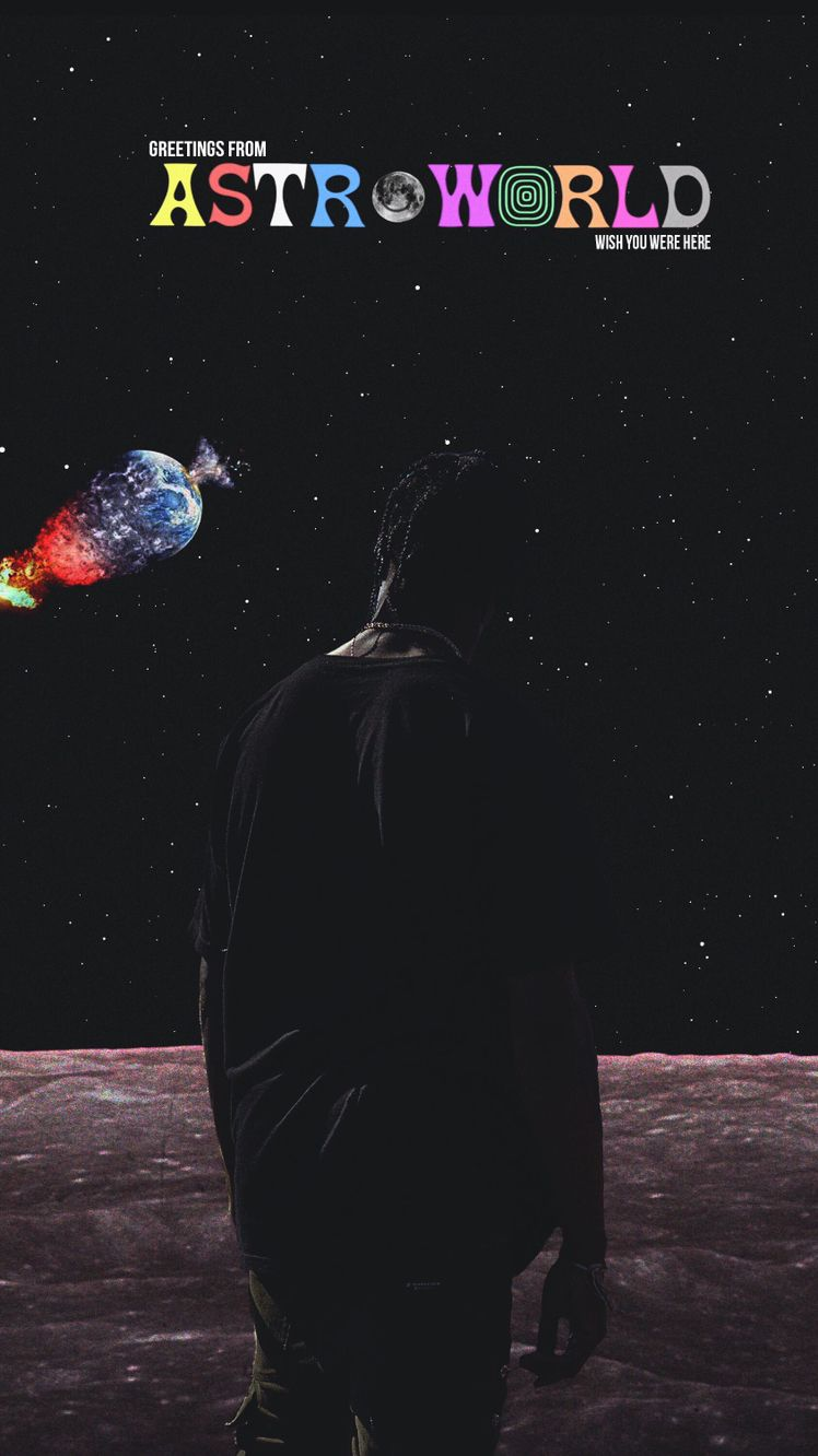 Astroworld Travis Scott iPhone Wallpaper Travis scott iphone