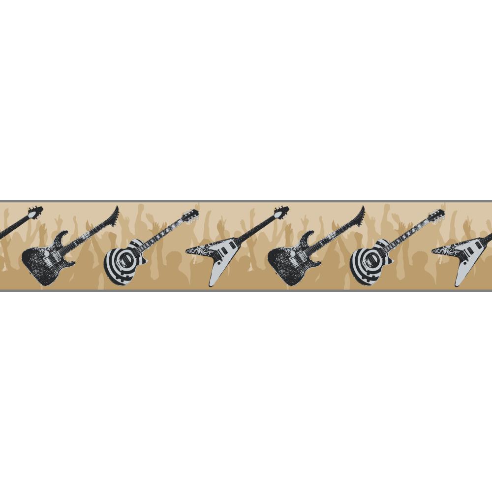 rock n roll   Wallpaper Border Wallpaper inccom 1000x1000