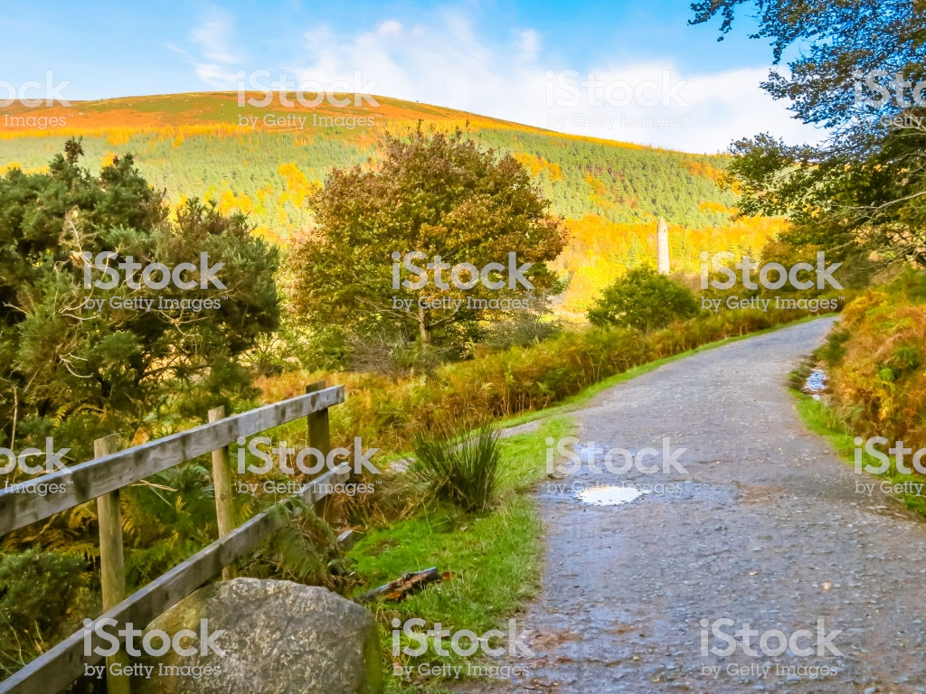 Glendalough Valley In The Fall Wicklow Mountains National Park 1024x768