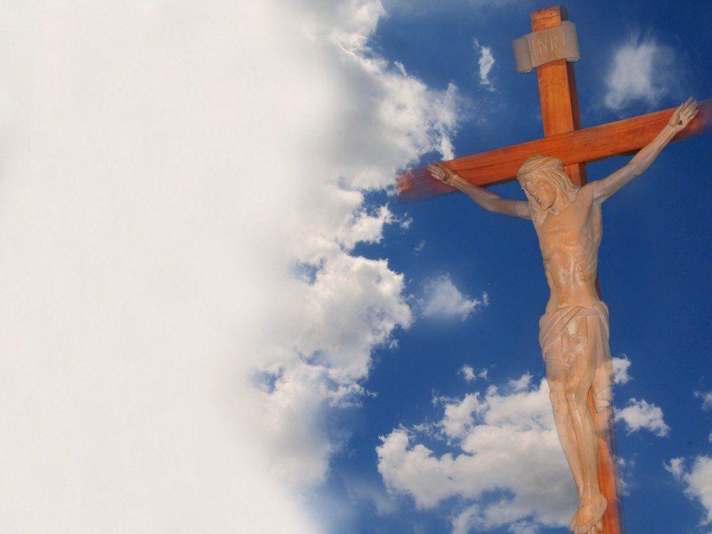 jesus christ on the cross wallpaper for desktop 1024x768