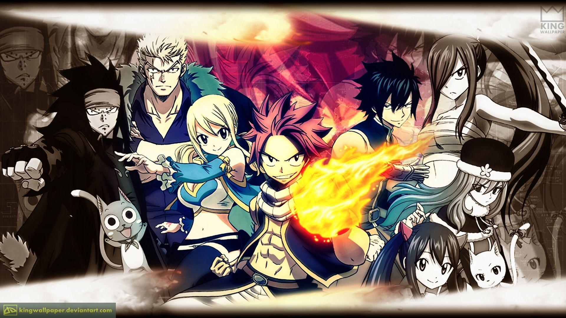 Fairytail 2016 Wallpapers 1920x1080