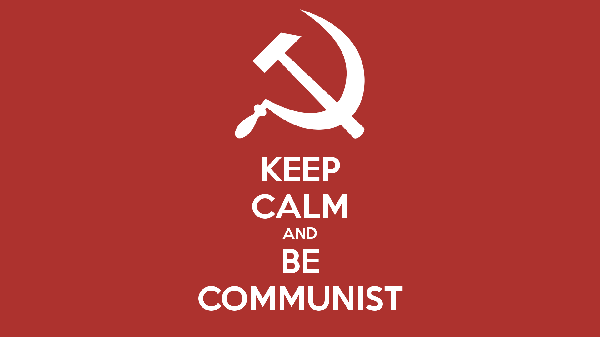 Картинка на рабочий стол коммунизм