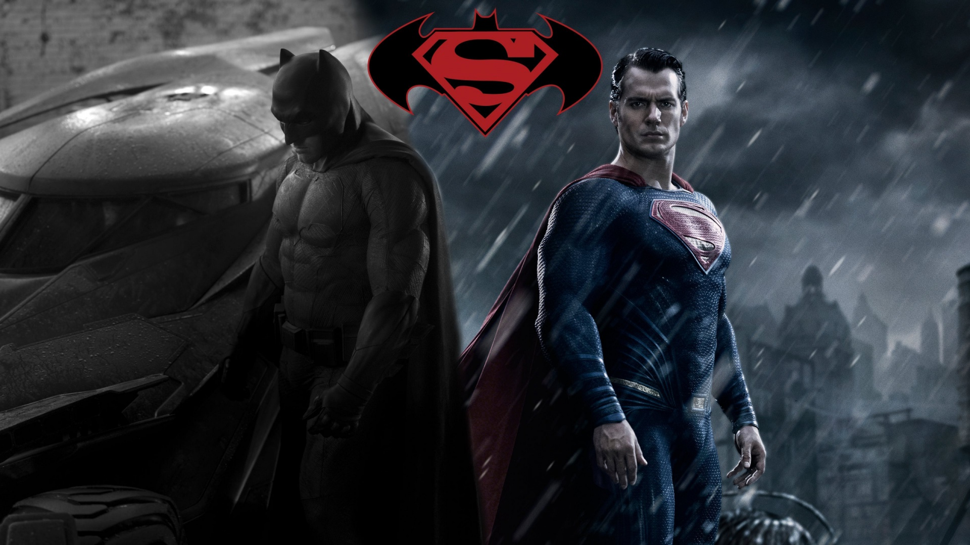 1920x1080 Batman vs Superman Fan Artwork desktop PC and Mac wallpaper 1920x1080
