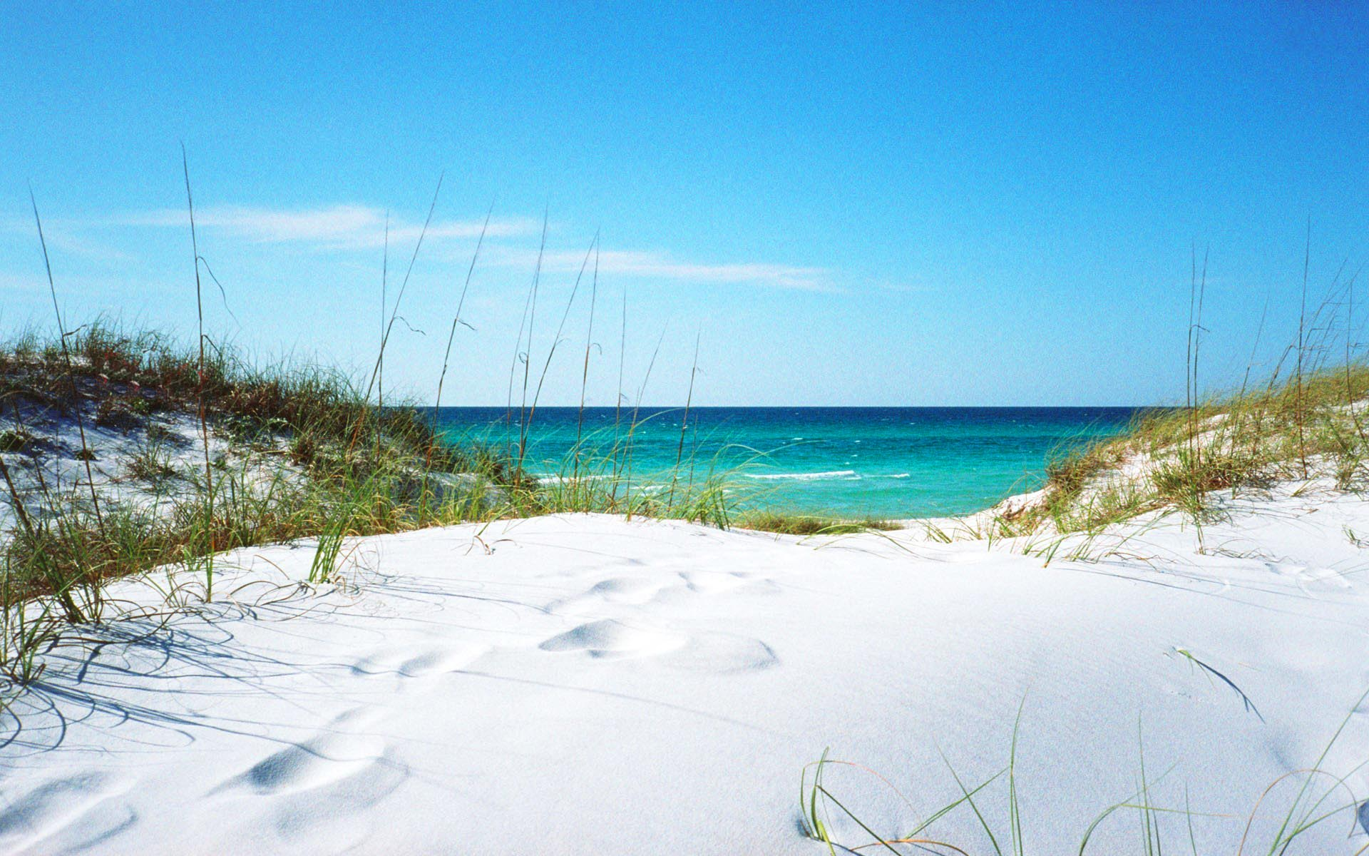 20723 white sanded beach in florida 1920x1200 beach wallpaperjpg 1920x1200