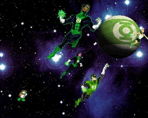 Green Lantern Corps 500x400