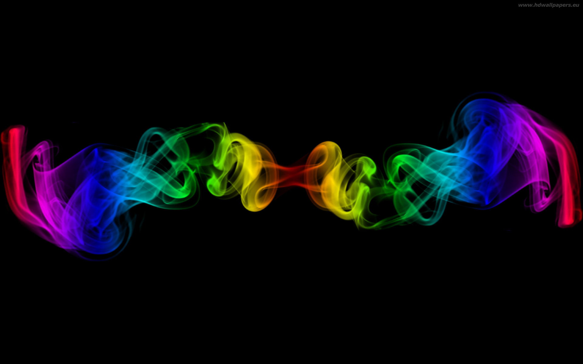 rainbow smoke wallpaper 1920x1200 1920x1200