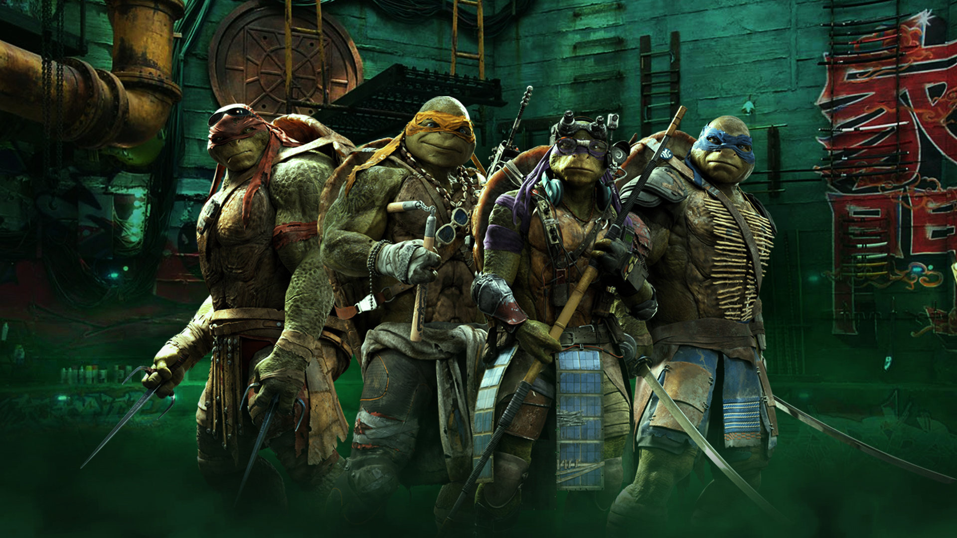 41 Ninja Turtles 2014 Wallpaper On Wallpapersafari