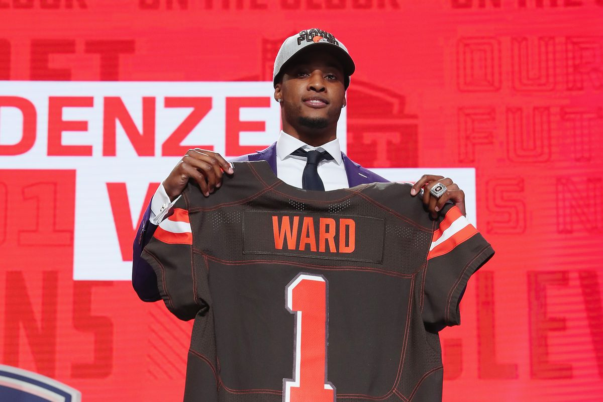 Browns testing Denzel Ward early LeVeon Bell sends questionable 1200x800