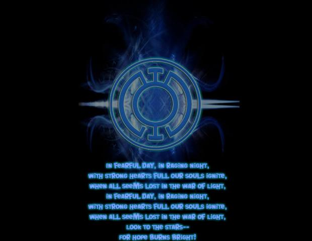 Showing Gallery For Blue Lantern Oath Wallpaper 620x480