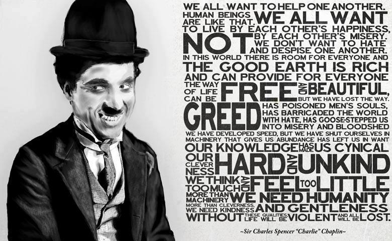 Introspective wallpaper on life The best Charlie Chaplin Wallpaper 780x480