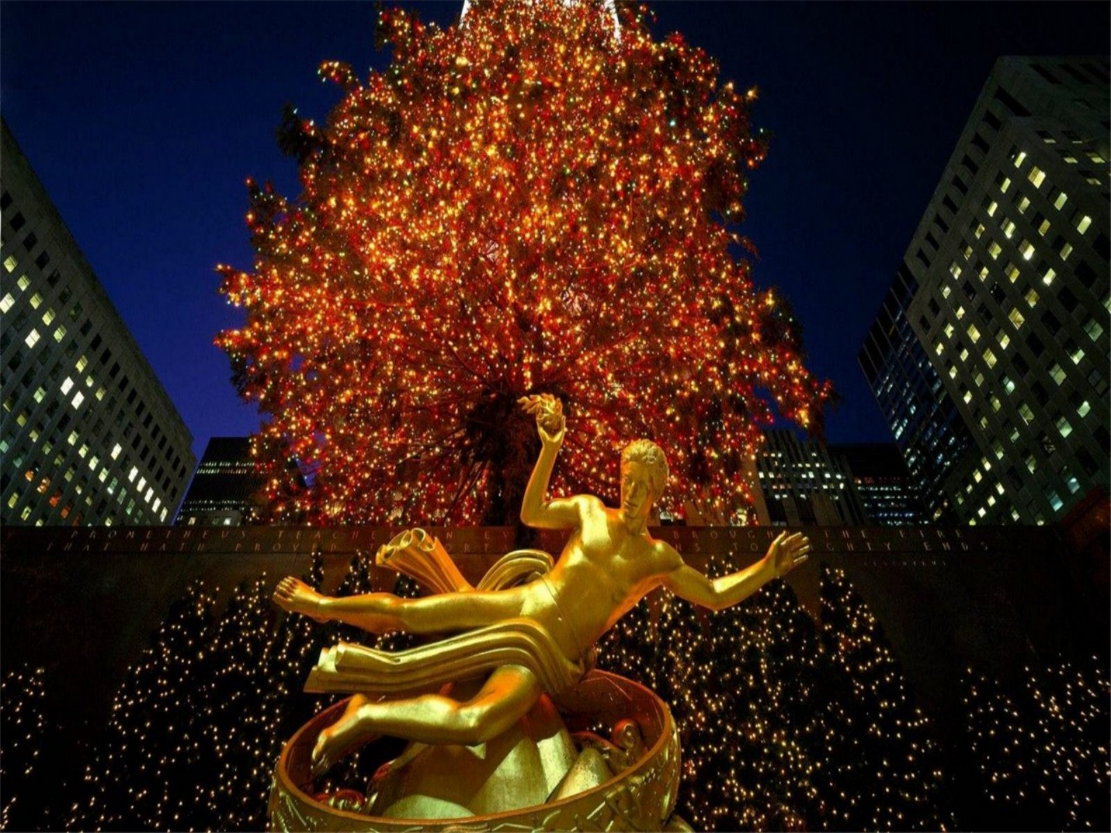 New York City Christmas Wallpaper submited images Pic2Fly 1600x1200