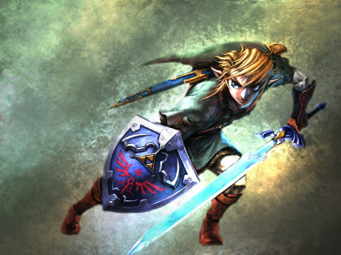 Wallpaper PSP Wallpaper Zelda   Zelda Twilight Princess Wallpapers 1366x1024