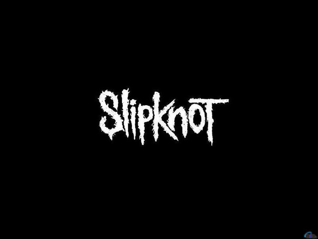 Wallpaper black Slipknot Slipknot logo on black 1024x768