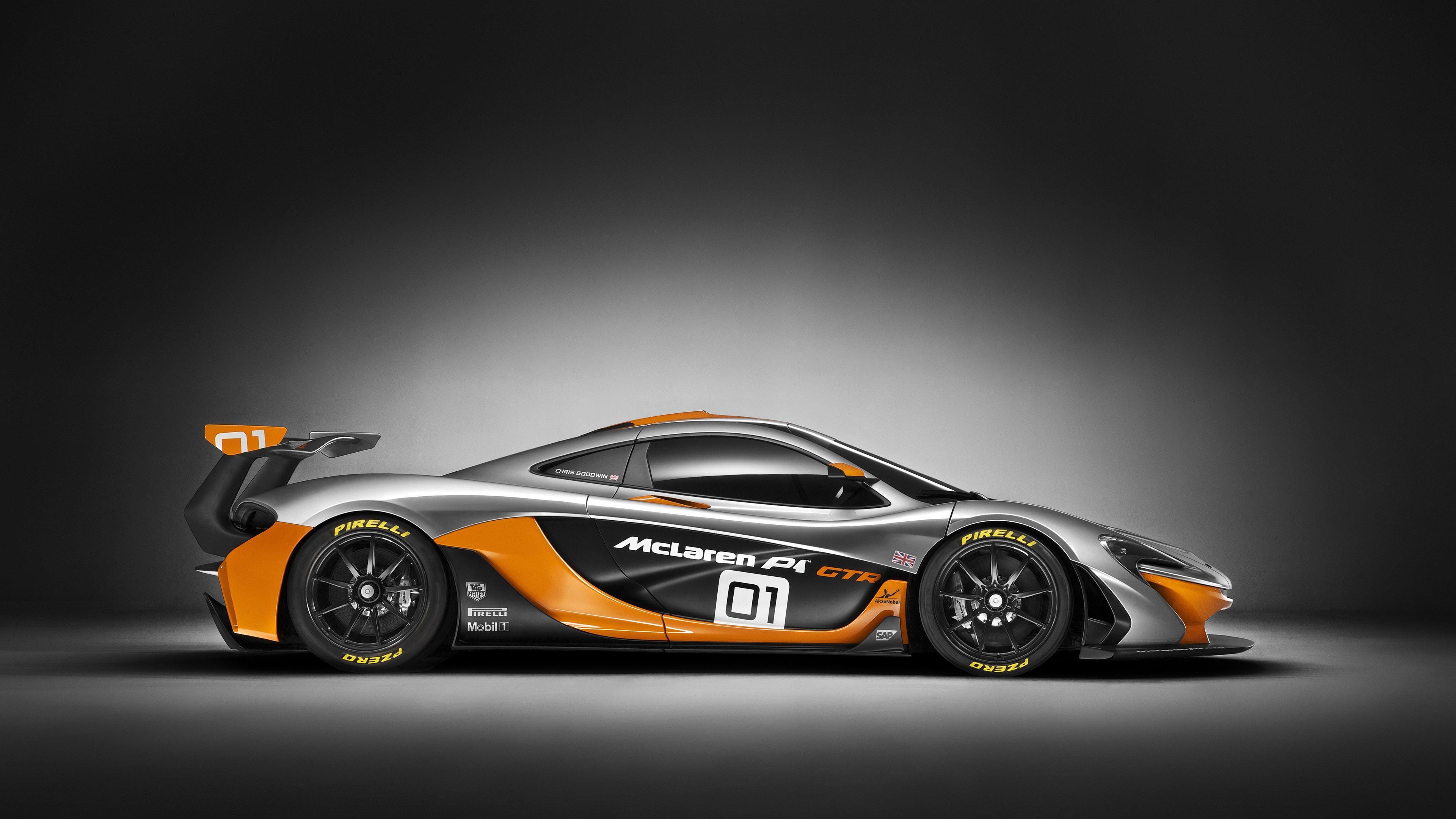 HD McLaren P1 race car side view Wallpaper Download   148966 3840x2160