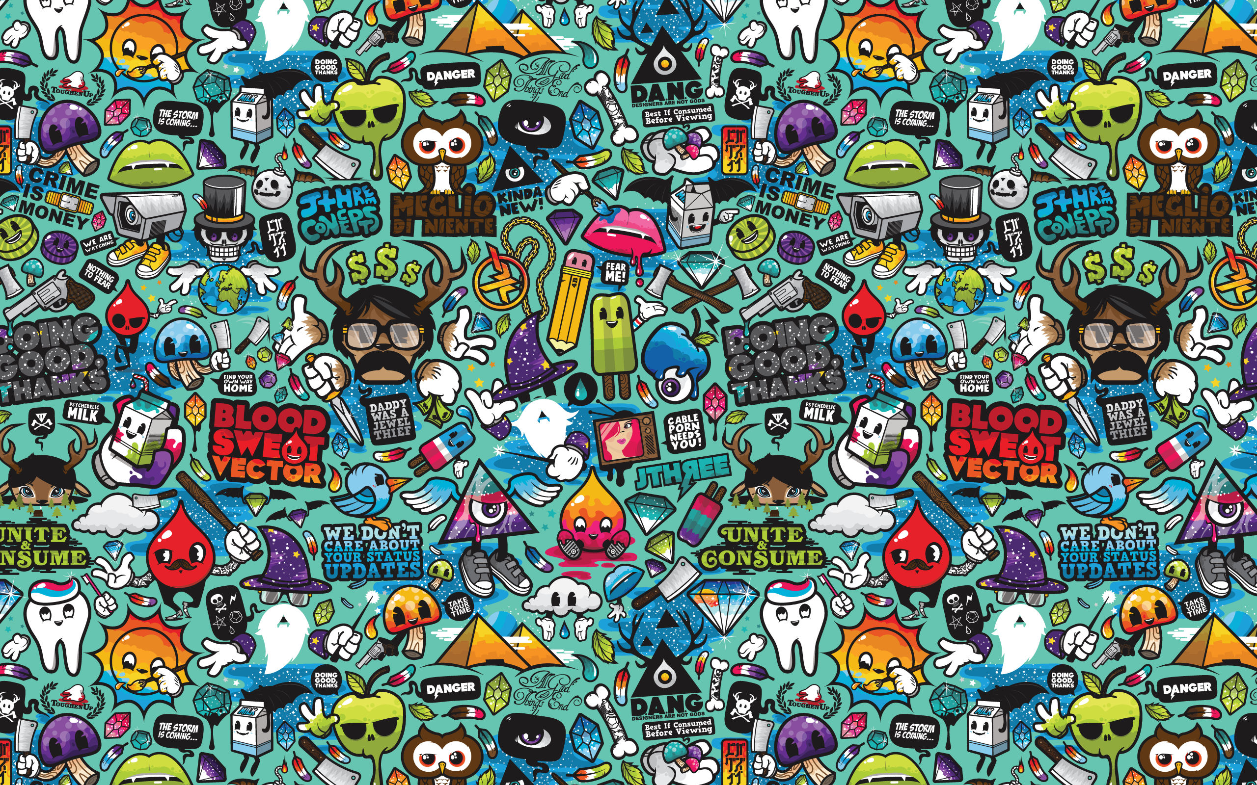 Retro Robot Wallpaper Backgrounds 2560x1600