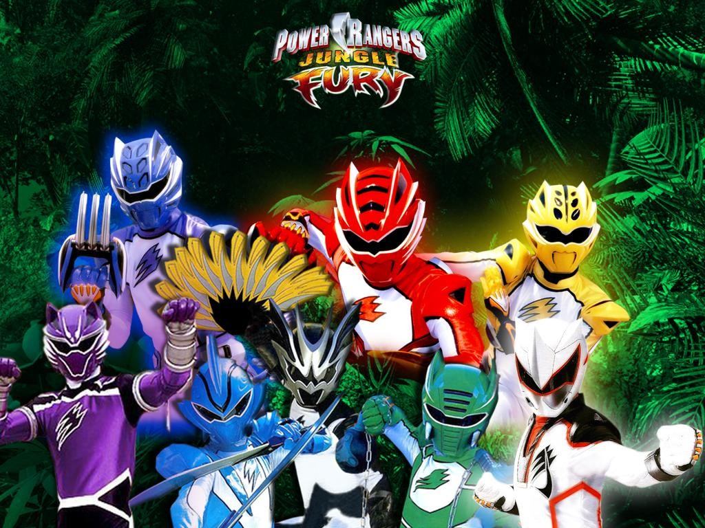 Power Rangers Jungle Fury Wallpaper Number 1 1024 x 768 Pixels 1024x768