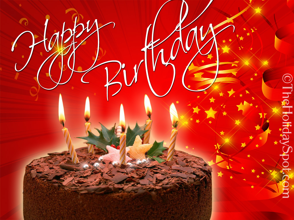 Happy birthday wallpapers to download or to send 1024x768