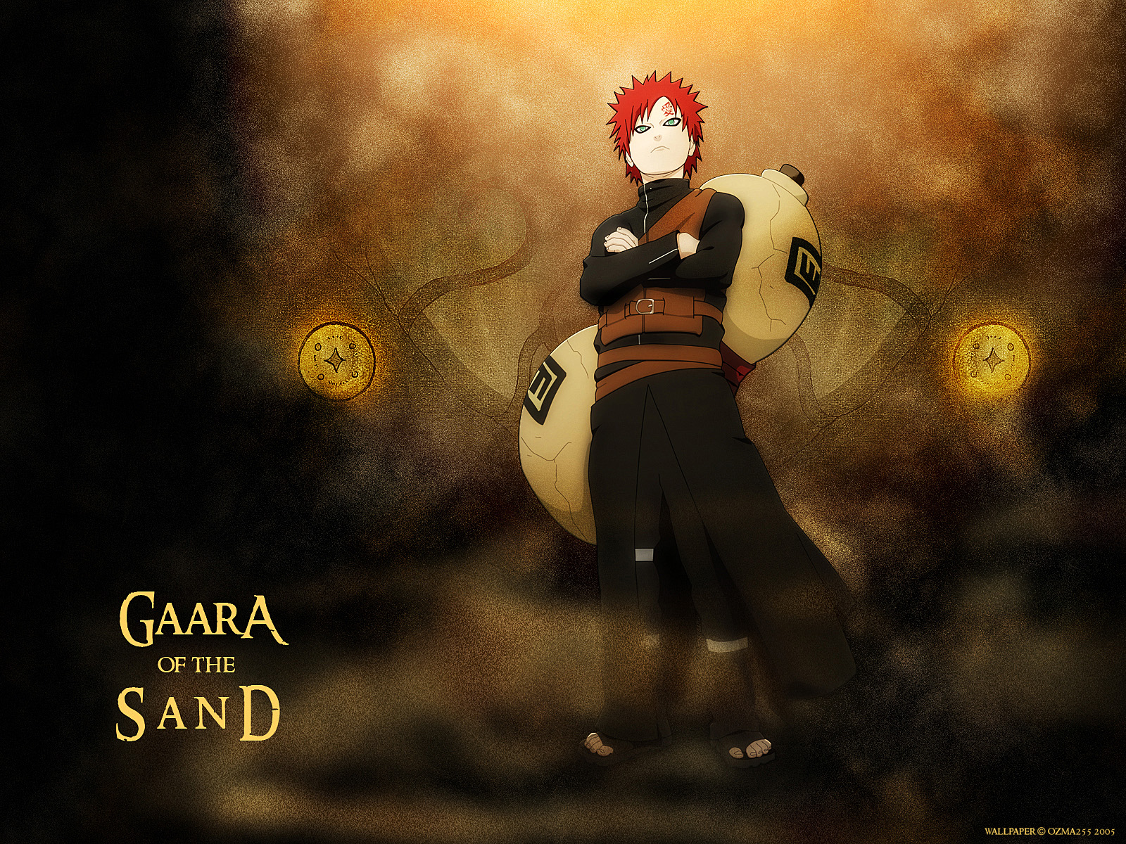 Download Anime Wallpaper Gaara HD Naruto Movie 1600x1200