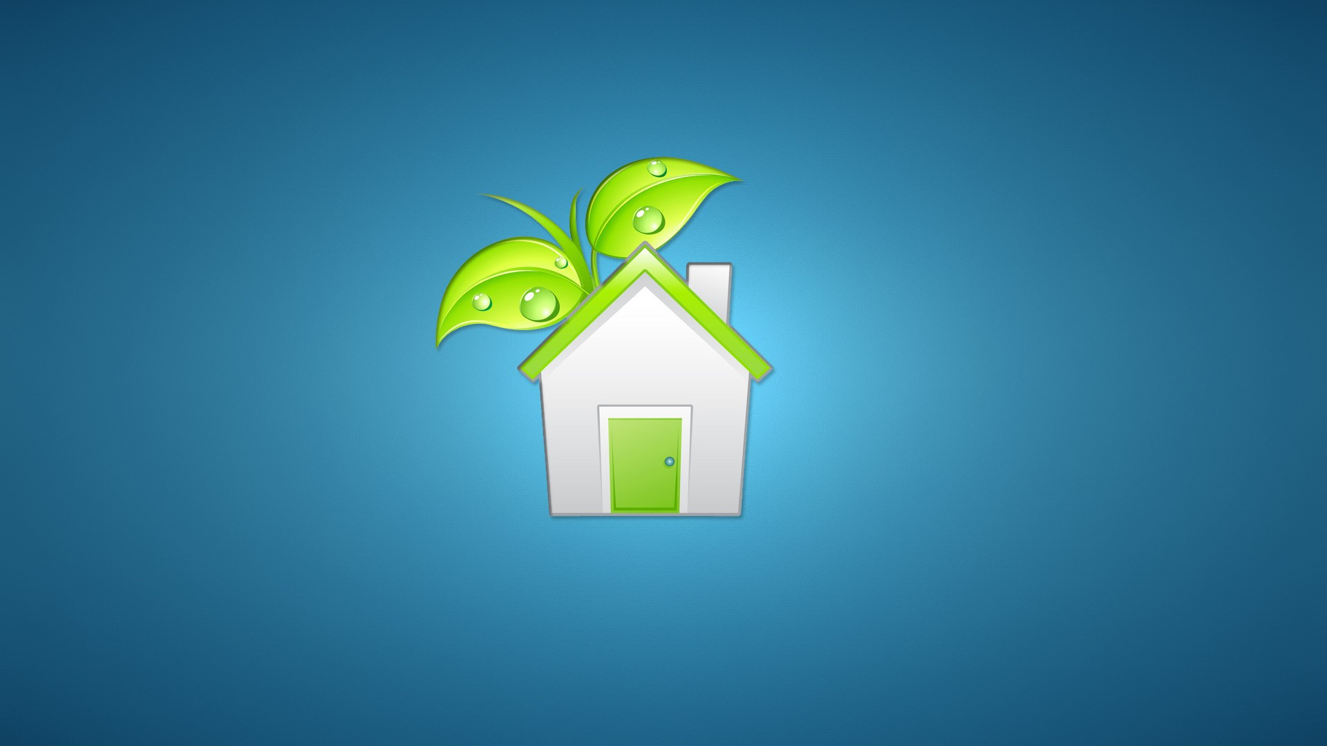 Eco house logo wallpapers and images   wallpapers pictures photos 1920x1080