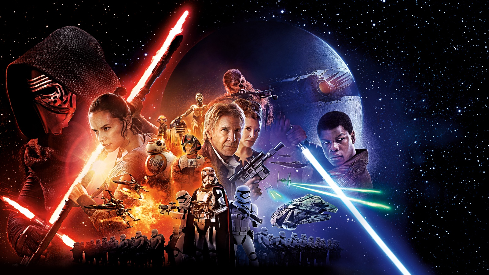 Star Wars Episode VII The Force Awakens Movie Wallpapers HD 1600x900