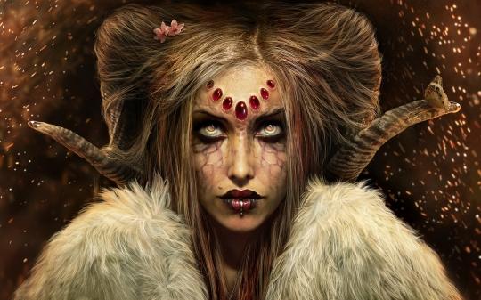 female demon wallpapers myspace - photo #19