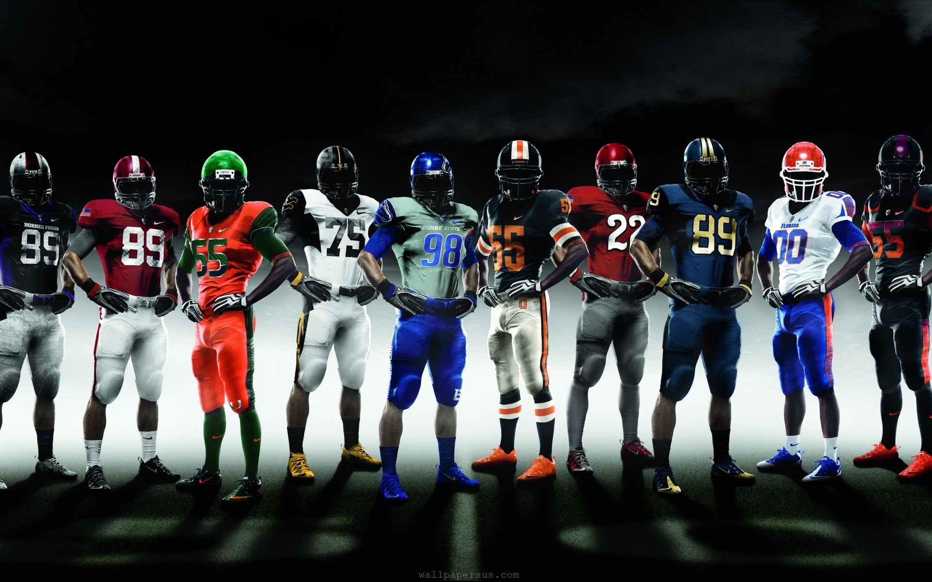 College Football Teams Nike Pro Combat 1920x1200 WIDE College Football 1920x1200