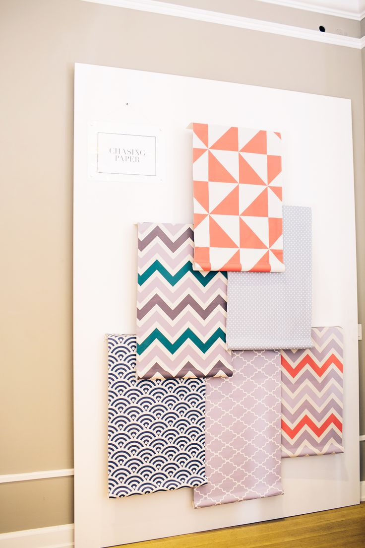 Chasing Paper removable wallpaper Walls Pinterest 736x1104
