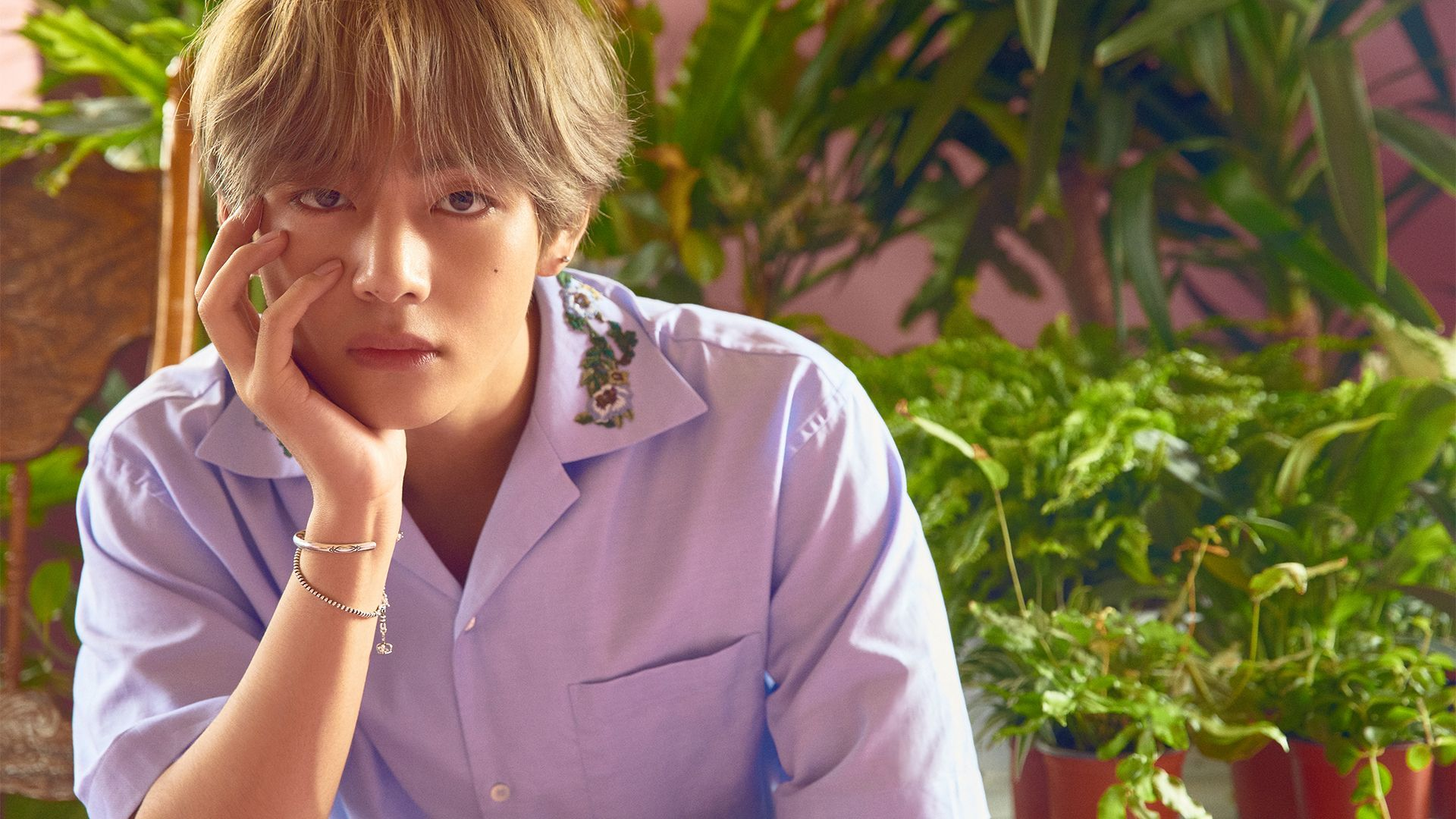 BTS V Desktop Wallpapers   Top BTS V Desktop Backgrounds 1920x1080