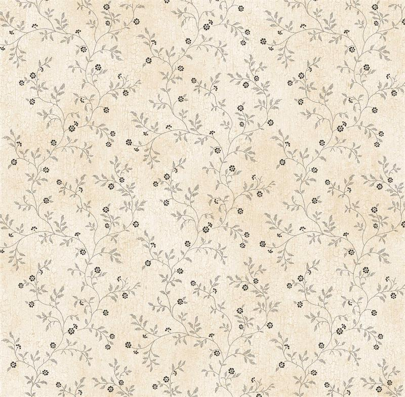 Off White Country Vine Wallpaper   Rustic Country Primitive 800x784