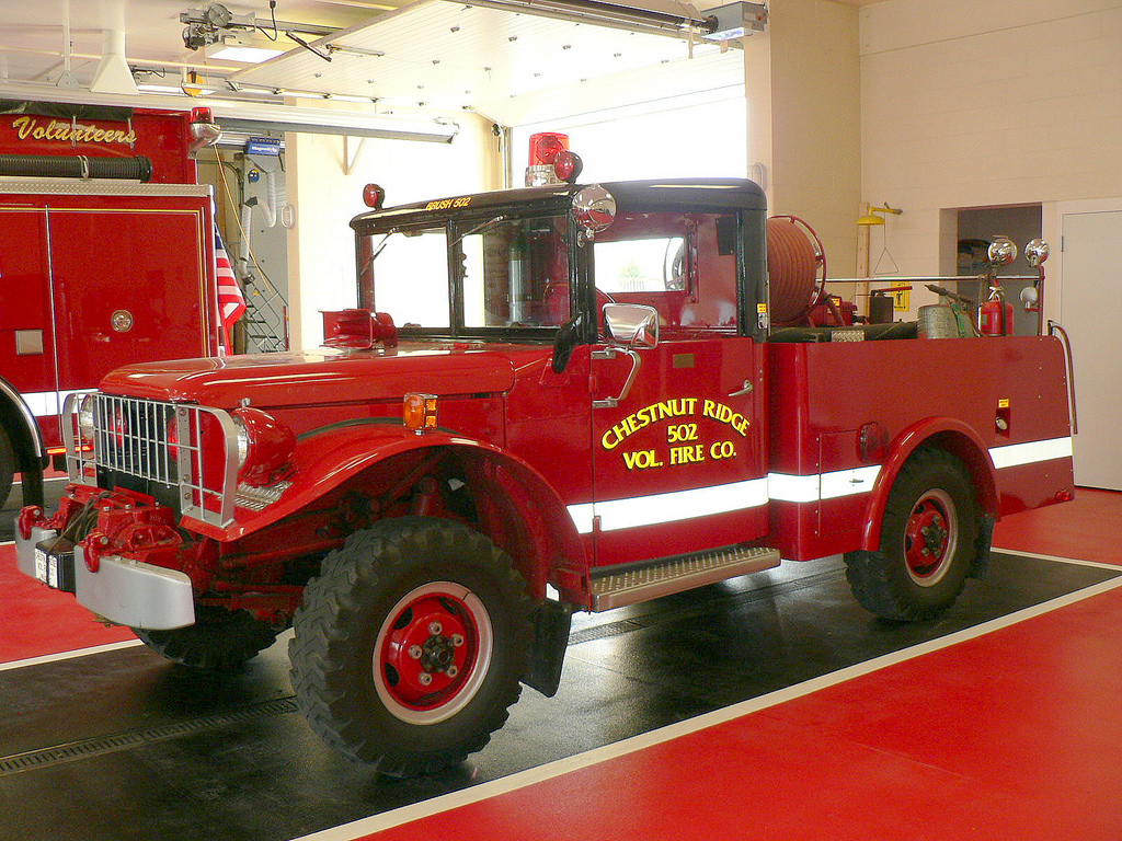 Old Fire Trucks Wallpaper Old Fashioned Fire Truck Large 1024x768