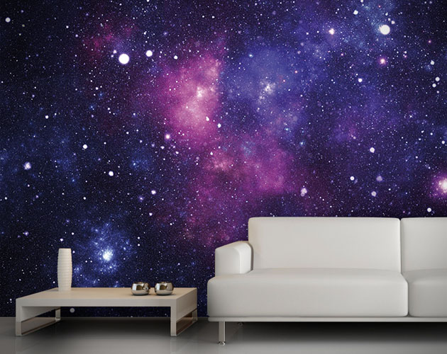 Galaxy Bedroom Walls Galaxy Wallpaper Wall Mural 1 630x500
