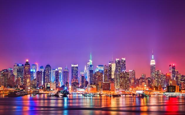 Daily Wallpaper New York Skyline at Night I Like To Waste My Time 630x394