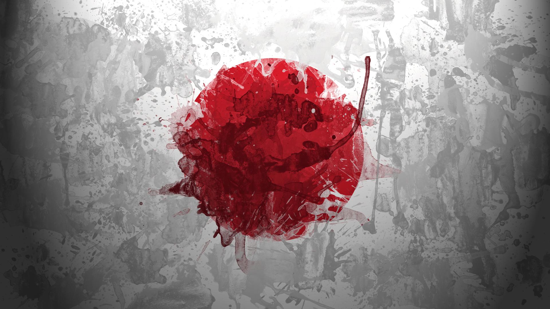 Japan Flag Art 2013 Wallpaper High Quality WallpapersWallpaper 1920x1080