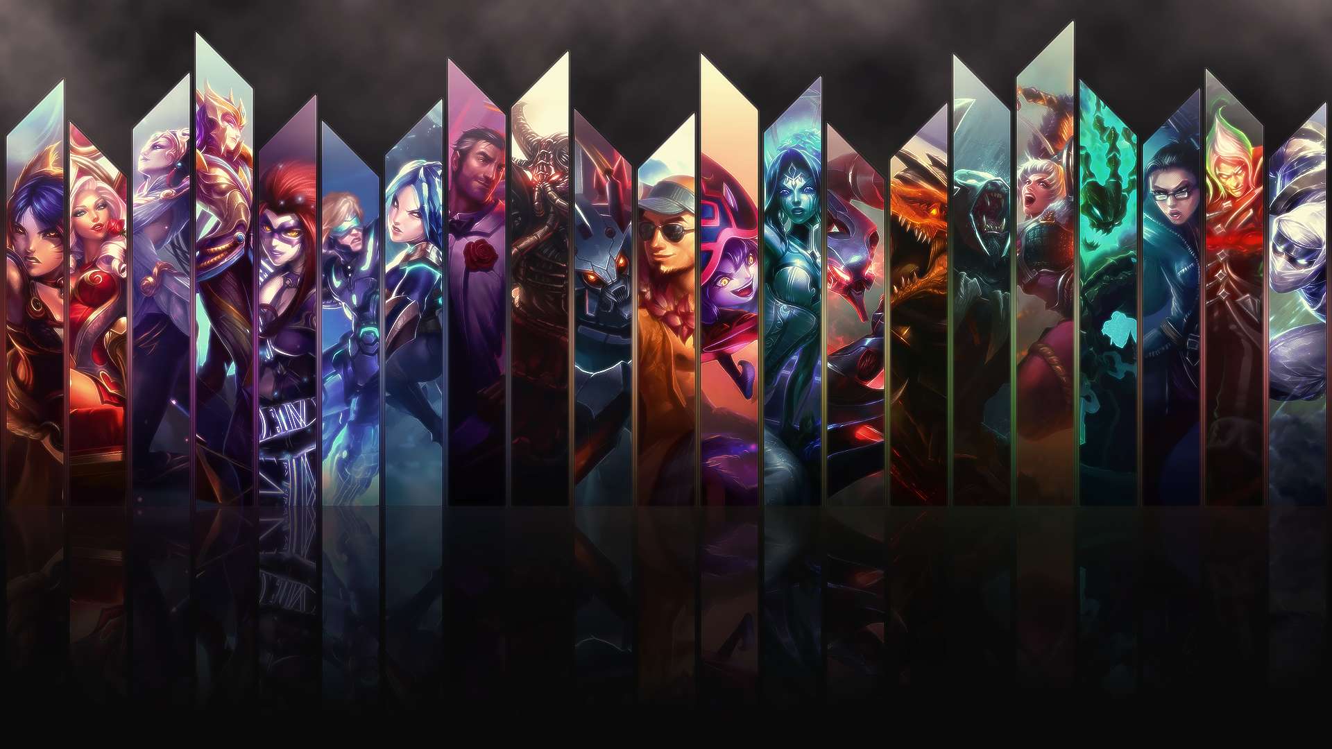 48 League Of Legends Wallpaper Maker On Wallpapersafari