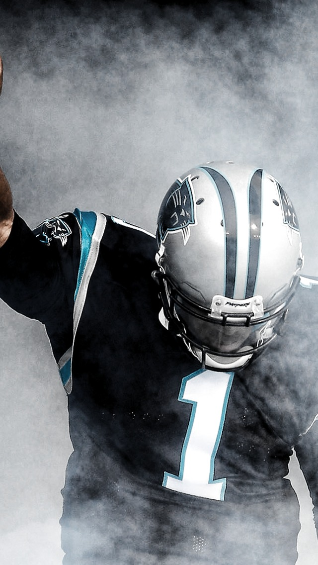 Cam Newton   1 Wallpaper for iPhone 5 640x1136