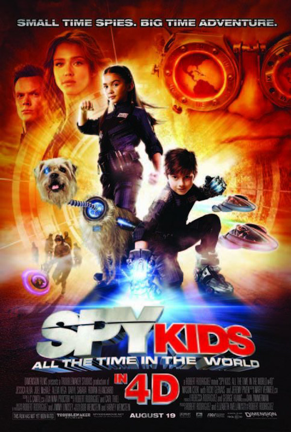 Spy Kids 4 Movie Reviews Trailer and Wallpapers 600x891